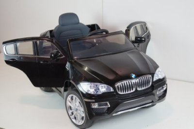 New-Licensed-BMW-X6-12v-Kids-Ride-on-Power-Wheels-Battery-Remote-Control-Toy-Car-Black-Gift-Mp3-Player