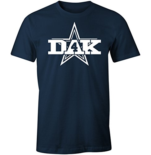 Tainted Apparel Dallas Dak Logo Men's T Shirt (XL)