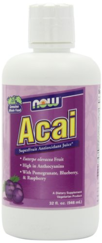 NOW Foods Acai Plus Juice Blend, 32 ounce