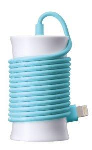 SoftBank SELECTION 高品質 itomaki AC Adapter for iPhone ブルー Lightningコネクタ対応