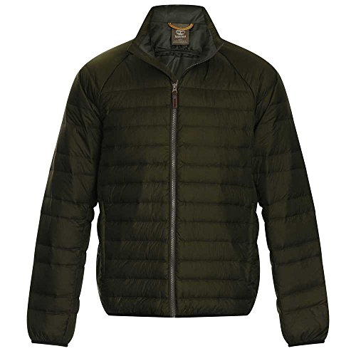 Timberland Mens Bear Head Water Repellent Padded Jacket 5503 Green