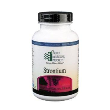 Ortho Molecular Product Strontium -- 60 Capsules