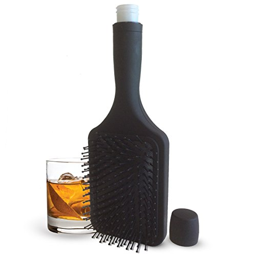 Hairbrush Hidden Flask and Funnel
