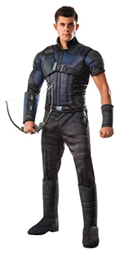 Rubie's Men's Captain America: Civil War Deluxe Muscle Chest Hawkeye Costume, Multi, Standard