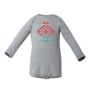 Cool-Native-American-Aztec-Southwest-Indian-Style-Print-Long-Sleeve-Baby-Bodysuit
