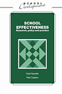 "Cover of ""School Effectiveness (School De..."