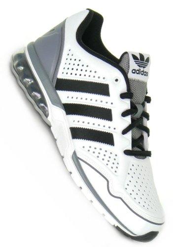 ADIDAS mega softcell rh white black grey gr. 10/44