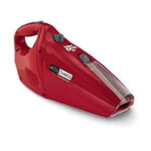 Dirt Devil Accucharge Cordless Handheld Vacuum BD10045RED