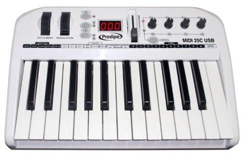 Prodipe Usb 25 Key Master Midi Keyboard Controller