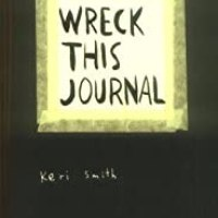Wreck This Journal - and so it begins, with a cup of coffee