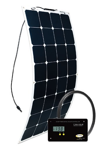 Go Power! 100W Flexible Solar Kit Go Power has sent us 2 of these kits to test out – head to head – against their competitors.