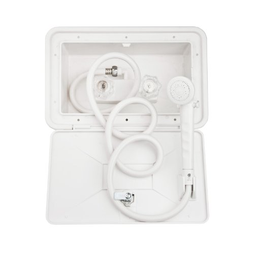 df sa170 wt white rv exterior shower box kit includes shower faucet shower hose shower wandb004nbknm2 find best price