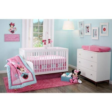 Minnie Mouse Crib Bedding Set - Happy Day