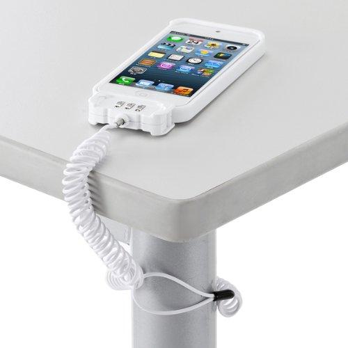 サンワサプライ iPhone5セキュリティ(eセキュリティ・ホワイト) SLE-24SIP5W