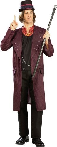 Rubie's Costume Charlie and The Chocolate Factory Willy Wonka, Multicolored, X-Large Costume