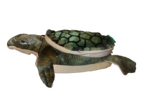 Happy Feet - Turtle - Animal Slippers - Large