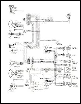 1968 Pontiac Tempest, LeMans, & GTO Wiring Diagram Manual