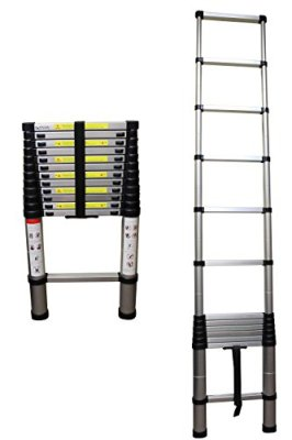 Aluminum-Telescoping-Portable-Ladder-with-Safety-Locking-Steps-330-lb-max