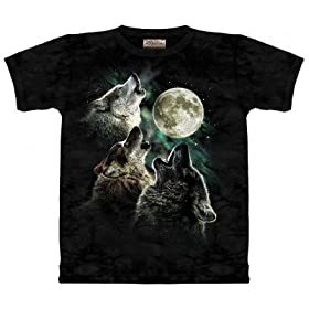 3 Wolf and Moon Shirt