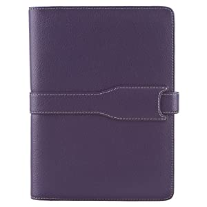 M-Edge Executive Jacket For Barnes&Noble nook - Pebbled Purple