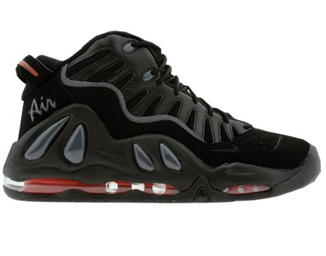 Buy Nike Air Max Uptempo 97 Mens Basketball Shoes [399207-002] Black/Black-Dark Grey Mens Shoes 399207-002-10.5