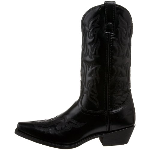 Laredo Men S Hawk Western Boot Black 13 D Us