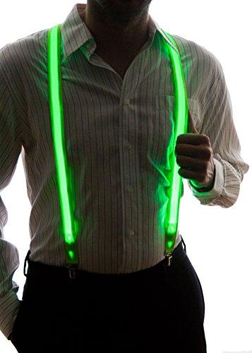 Light Up Suspender w/ Different Color Options