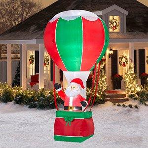 Amazon.com: CHRISTMAS DECORATION LAWN YARD INFLATABLE ... on Backyard Decorations Amazon id=72385
