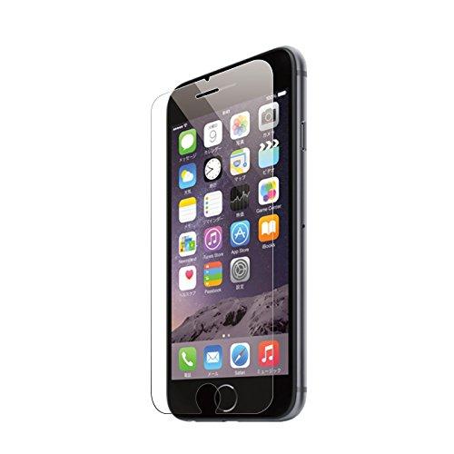 DOLPHIN47 EDGE iPhone 6s / iphone 6 フィルム ガラスフィルム 強化 ガラス 液晶 保護フィルム ガラスフィルム 薄さ0.3mm 3D touch 対応 日本製素材 硬度9H ラウンドエッジ