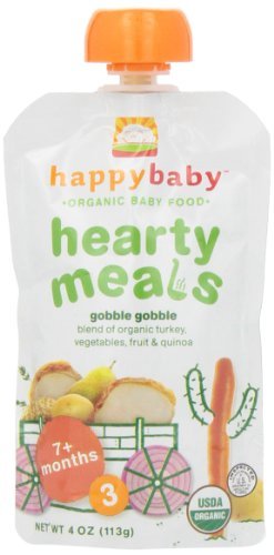 Happy Baby Hearty Meals, Root Vegetables & Turkey with Quinoa, Stage 3