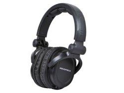 Monoprice 108323 Premium Hi-Fi DJ Style Over-the-Ear Pro Headphone Bundle