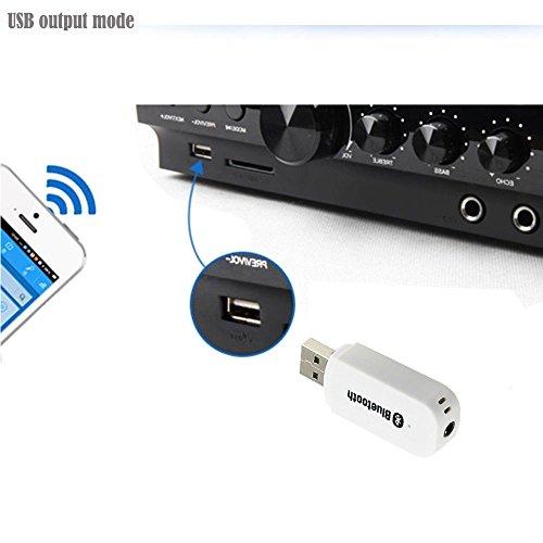 Updated eranton® USB Bluetooth Audio Music Receiver ...