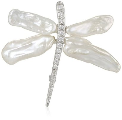 Bella-Pearl-Keshi-Pearl-Dragonfly-Brooches-and-Pins