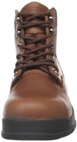 84fd6ae8349 Wolverine Men's Harrison W04904 Work Boot,Brown Leather,11 M US ...
