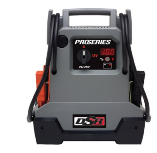 Schumacher PSJ-2212 DSR ProSeries 2200 Peak Amps Jump Starter and Portable Power Unit