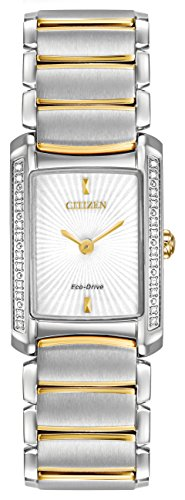 citizen eco-drive silhouette diamond stainless steel women,s watch #eg2964-56a,video review,(VIDEO Review) Citizen Eco-Drive Silhouette Diamond Stainless Steel Women's watch #EG2964-56A,
