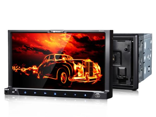 "Best Buy Milion D2223 2 Din Detachable 7"" HD Car dvd stereo ... Planet Audio P B Wiring Harness on"