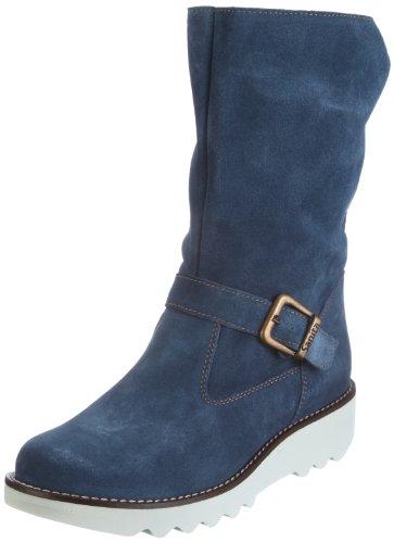 Sanita Magna Boot 451975-5, Damen Stiefel, Blau (Blue 5), EU 39