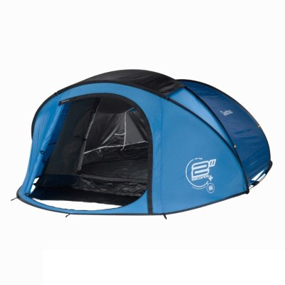 quechua 2 seconds iii wurfzelt blau zelt testsieger. Black Bedroom Furniture Sets. Home Design Ideas