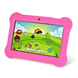 Orbo Jr. 4GB Android 4.1 Five Point Multi Touch Tablet PC - Kids Edition [March 2014] - Pink