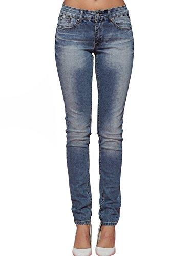 Alice & Elmer Damen Mid-Rise Skinny Jeans