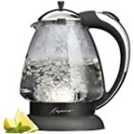 Capresso 259.03 H2O Plus Glass Water Kettle, Polished Chrome for $59.99 + Shipping