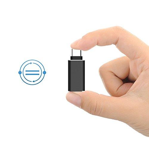 Adattatore USB C, Rankie alta velocità USB-C 3.1 a USB-A 3.0 [Confezione da 2] Adattatore per USB Type-C dispositivi includere MacBook, ChromeBook Pixel, Nexus 5X, Nexus 6P, Nokia N1 Tablet e Di Più - R1209