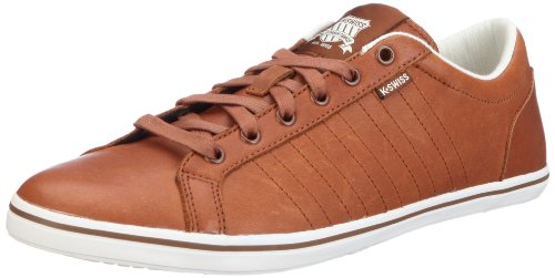 K-Swiss HOF III 02803-253-M, Herren Sneaker, Braun (Sturdy Brown/Bone), EU 43 (UK 9)