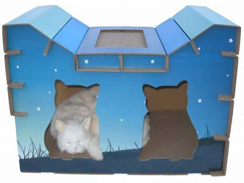 Small Dog Cube Bed Playhouse