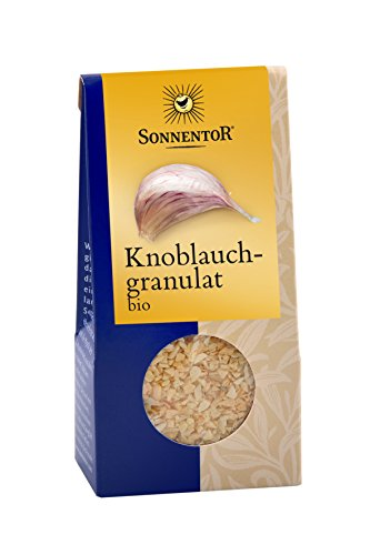 Sonnentor Knoblauch Granulat, 1er Pack (1 x 40 g) - Bio