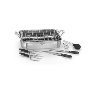 cuisinart stainless steel chef's classic roasting pan