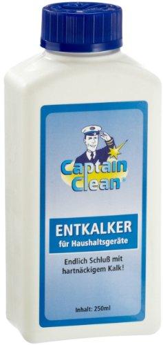 GHZ-Matra 100406-B Captain Clean Entkalker für Haushaltsgeräte 250 ml