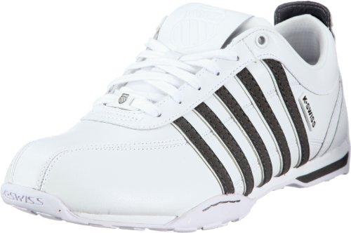 K-Swiss ARVEE 1.5 02453-121-M, Herren Sneaker, Weiss (White/Castle Gray), EU 43 (UK 9)