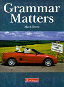 "Cover of ""Grammar Matters"""